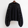 Round Neck Loose Sweater - Ommicron Swiss