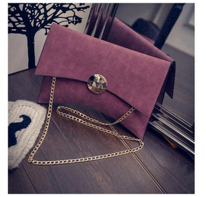 Chain Clutch Envelope Bag