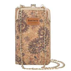 Cork Long Wallet For Women - Ommicron Swiss