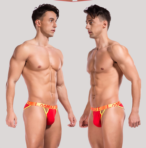 String Fine Cotton Thong - Ommicron Swiss