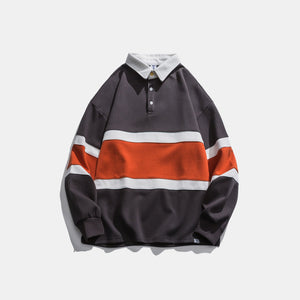 Hong Kong Style Striped Sweater - Ommicron Swiss