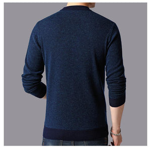 Round Neck Sweater For Men - Ommicron Swiss