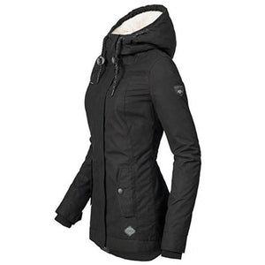 Womens Padded Cotton Jacket - Ommicron Swiss