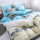 100% Natural Cotton Print Bedding Set - Ommicron Swiss