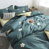 100% Natural Cotton Print Bedding Set