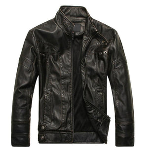 Evening Out Leather Jacket - Ommicron Swiss