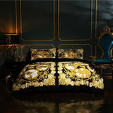 Luxury Bedding Set - Thick Fleece Duvet Cover 4/6pcs