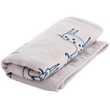 Kids Absorbent Pure Cotton Towel Bath Towels for Bathroom/Face washing, Grey