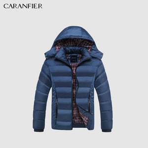 20 Degree Thicken Warm Parkas - Hooded Coat