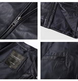 Sheepskin Clothing Short Design Real Leather Jackets - Ommicron Swiss