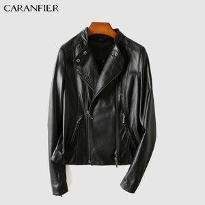 Genuine Leather Jacket-Real Lady Natural Sheepshin Leather