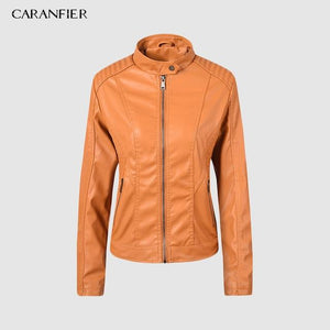Motorcycle Jacket Brand Fashion Faux Leather Jackets