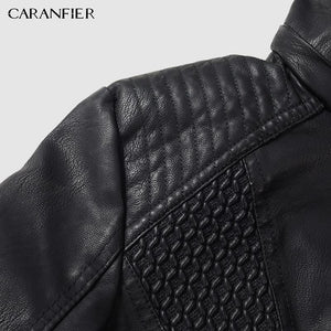 High Quality Winter Women Leather Jacket  - Fur Lined Leather