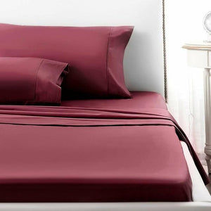 4 pcs Bed Sheet Set Deep Pocket USA - Ommicron Swiss