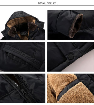 Winter Long Coats Men - High Quality Parka Men 3XL