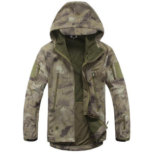 OmmicronSwiss Army Camouflage Tactical Jacket - Ommicron Swiss