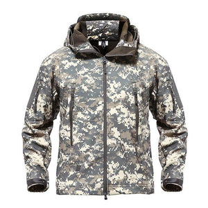 Army Camouflage Tactical Jacket