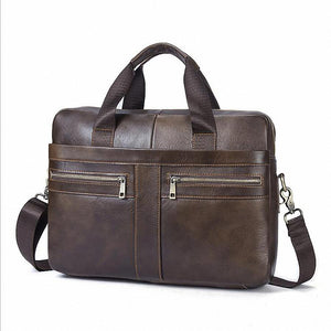 Leather laptop bad, man bag, man purse, leather travel bag, messenger bag
