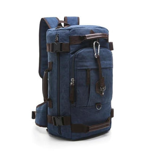 Canvas Backpacks Schoolbag - Ommicron Swiss