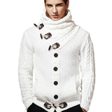 Men's Casual Thick Knitted Shawl