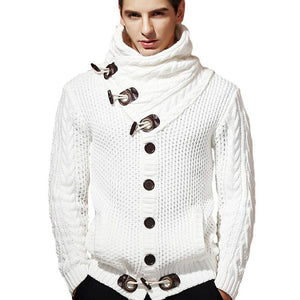 Men's Casual Thick Knitted Shawl - Ommicron Swiss