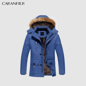 Parkas Hooded Thicken Warm-Windproof