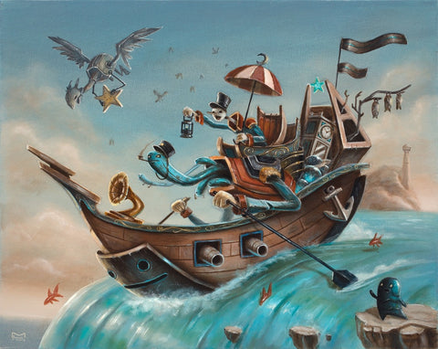 Matt Linares - The Treasure Hunters