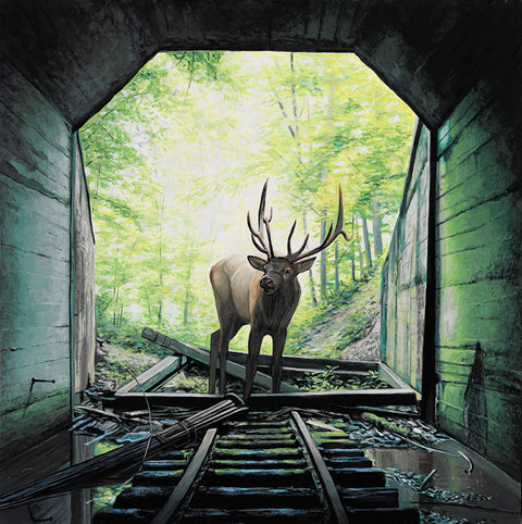 Josh Keyes - The Tunnel