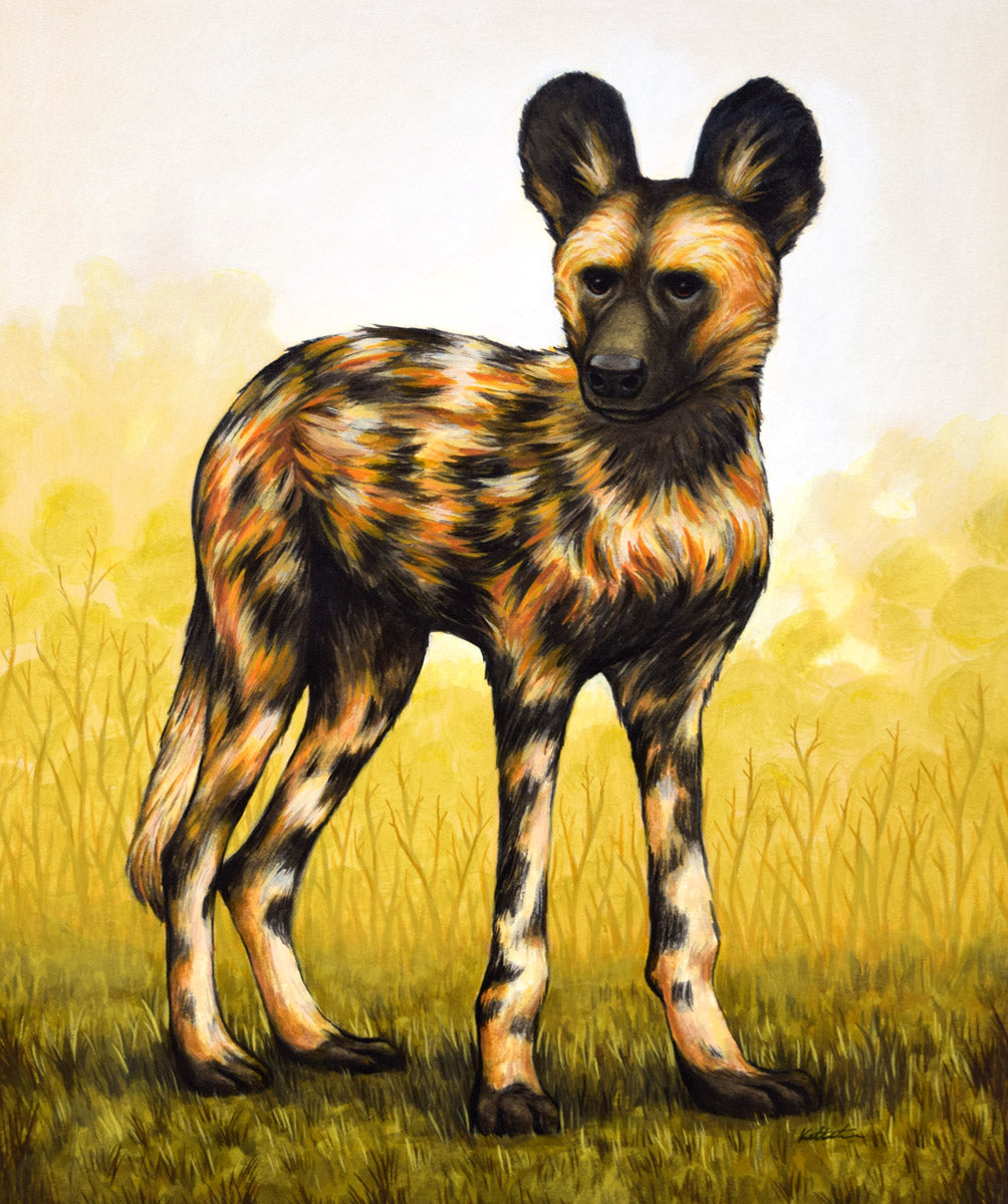 "Keith Carter - ""African Wild Dog"""