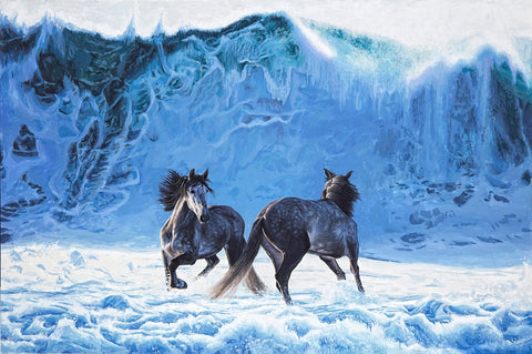 Josh Keyes - Churn