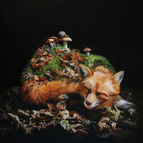 "Lisa Ericson - ""Wake Me When It's Over"" Limited Edition Print"