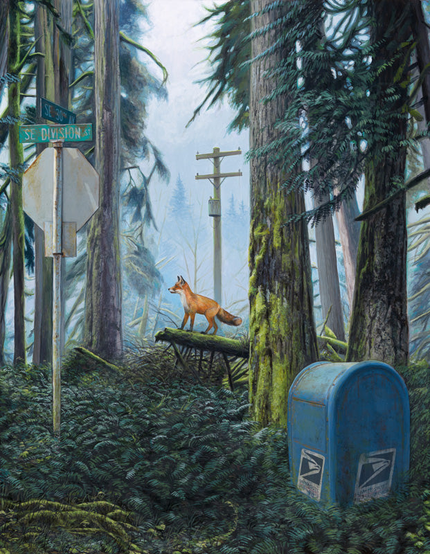 Josh Keyes - The Forest