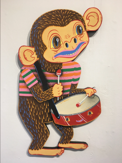 Tripper Dungan - Monkey on a snare drum