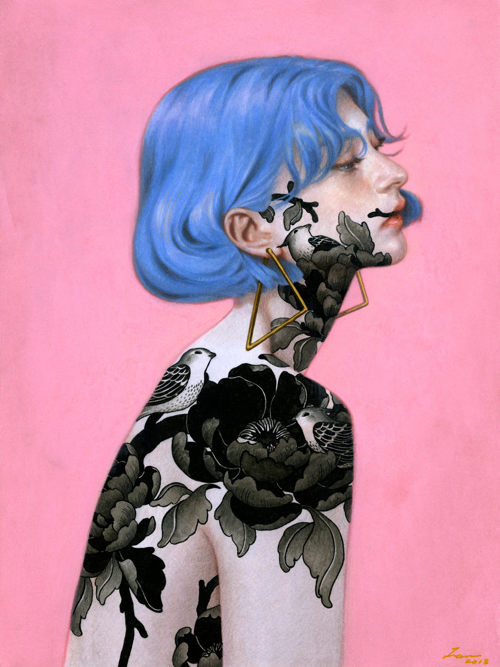 "Tran Nguyen - ""The Cerulean Girl"""