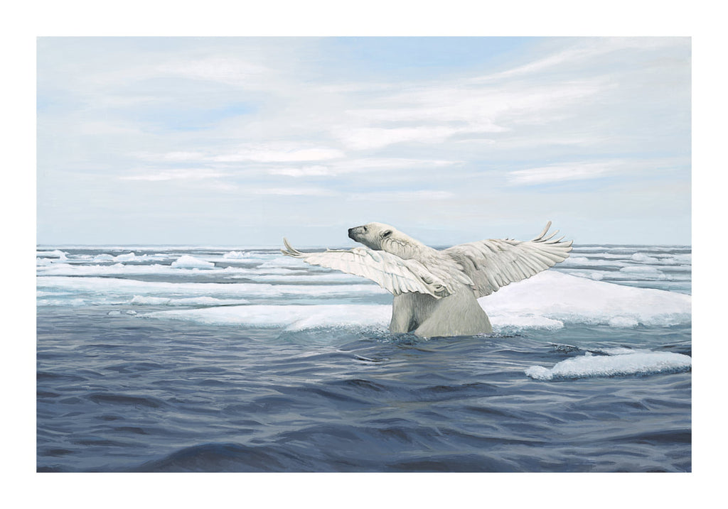 Limited Edition Print - Thaw by Josh Keyes
