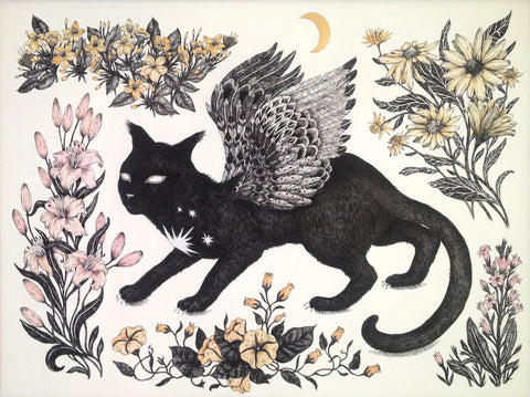 Jennifer Parks - The Celestial Cat