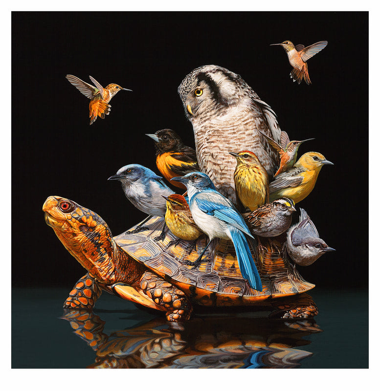 Limited Edition Print - Flock by Lisa Ericson