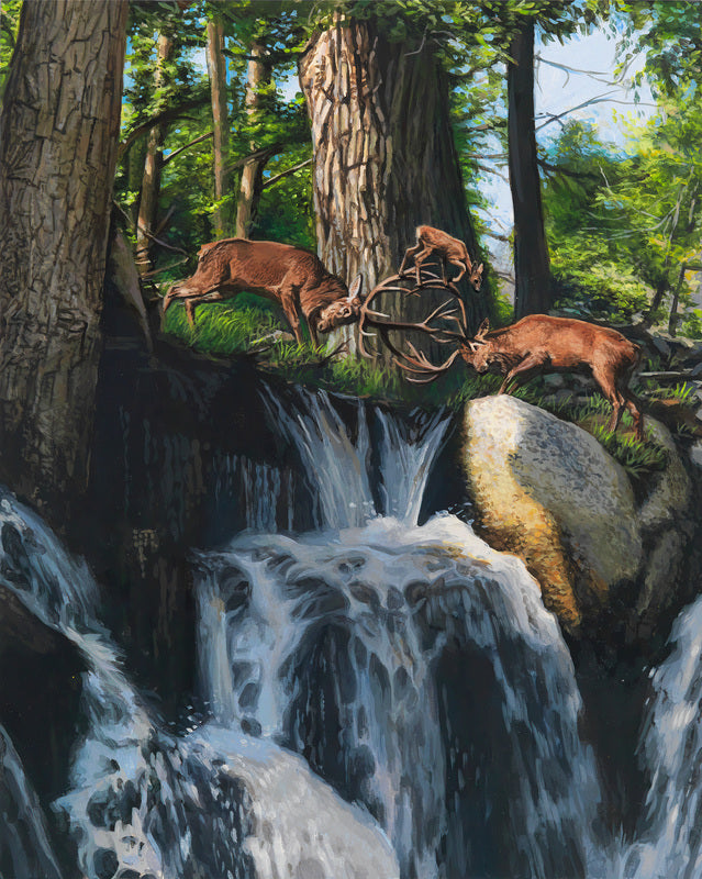 Josh Keyes - Crossing
