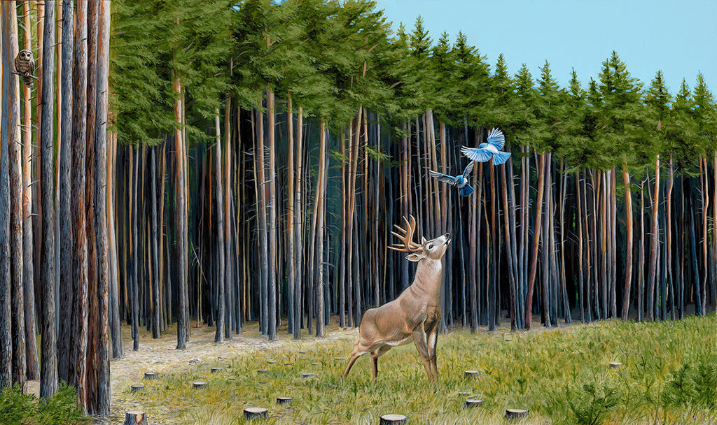 Josh Keyes - The Messengers