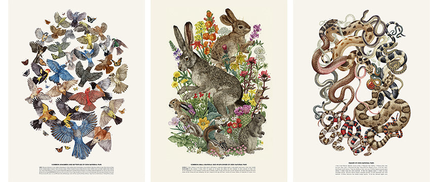 Zoe Keller - Poster Set & Bonus Ltd Edition print