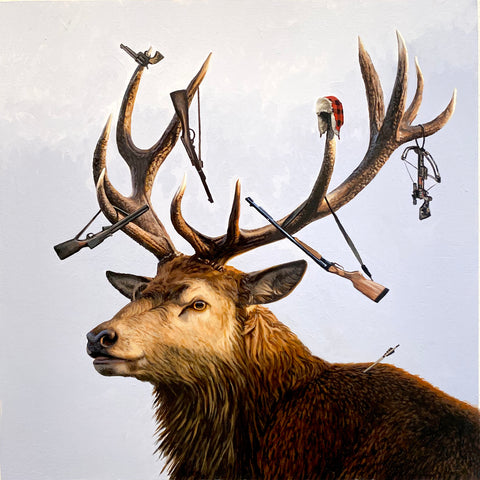 Josh Keyes - The Hunter