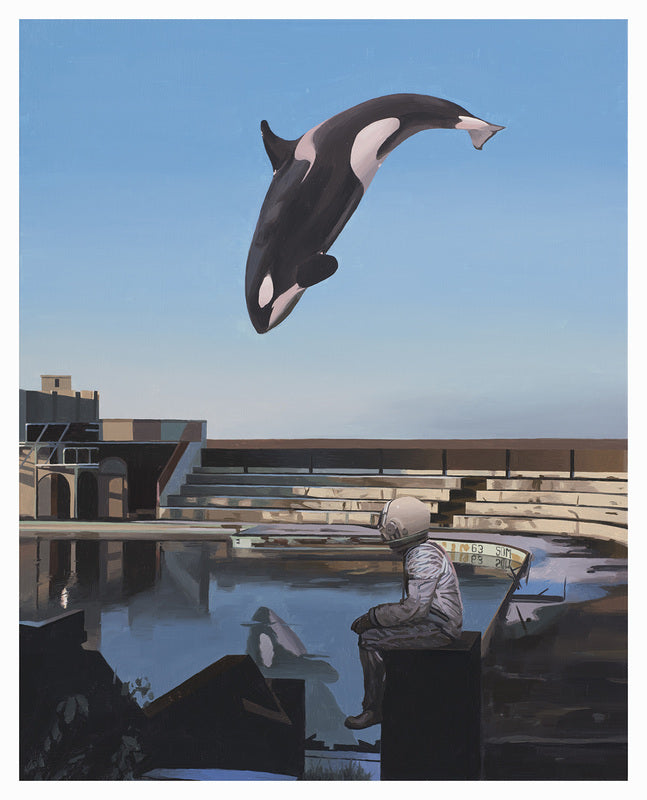 Limited Edition Print - Orca by Scott Listfield