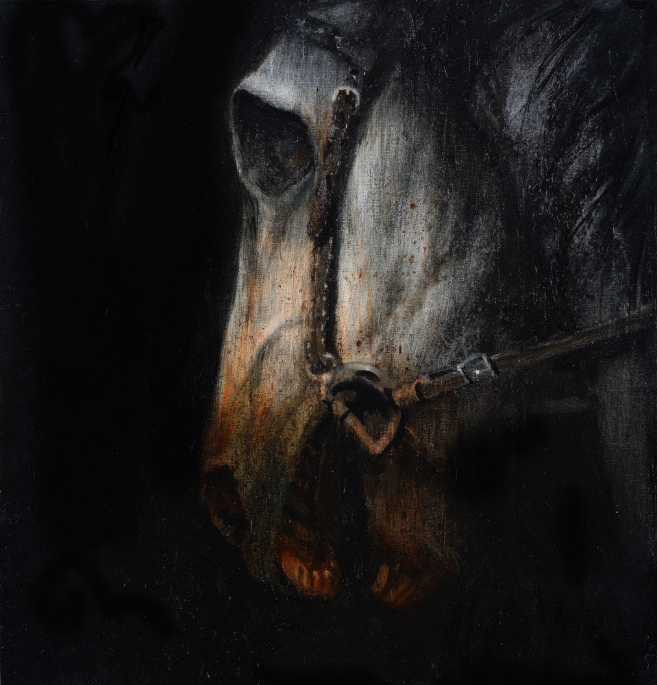 Martin Wittfooth - Pale Horse