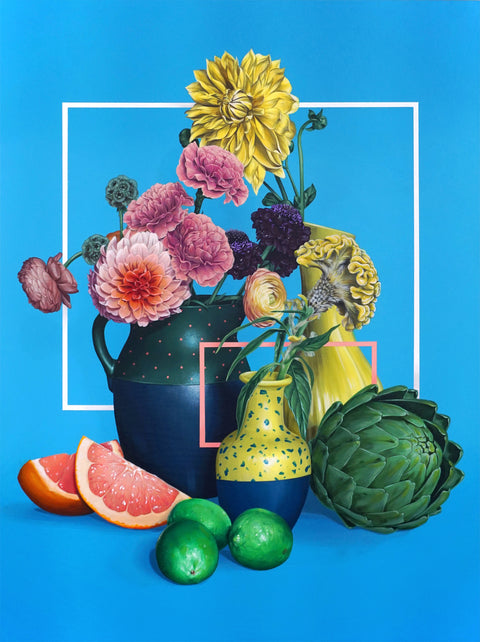 "David Rice - ""Still Life, Blue"""