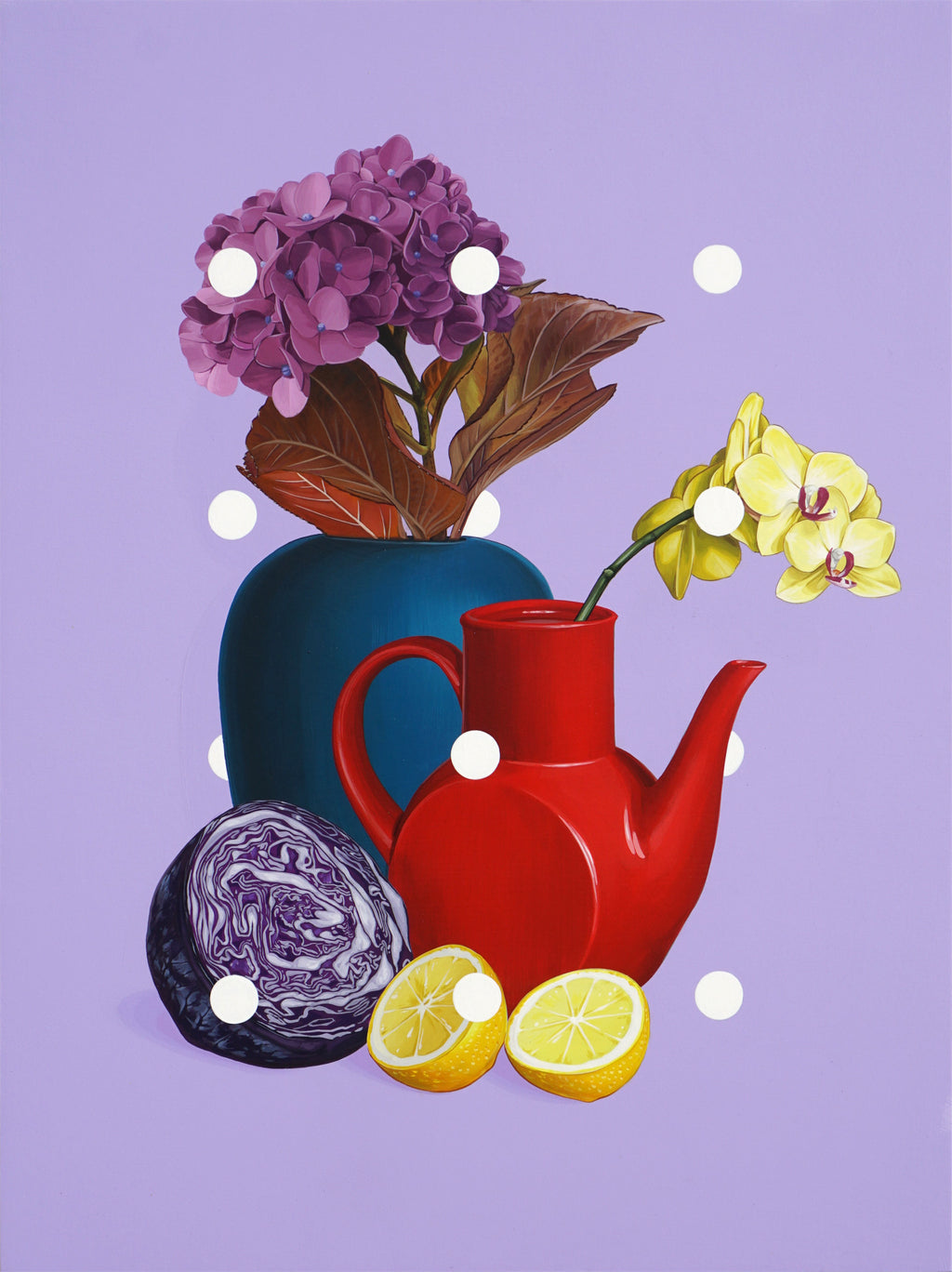 "David Rice - ""Still Life, Purple"""