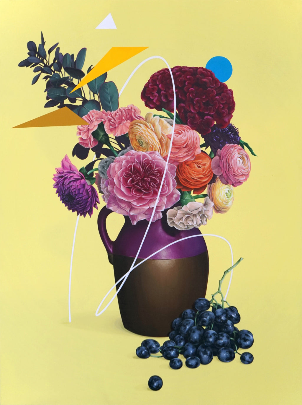"David Rice - ""Still Life, Yellow"""