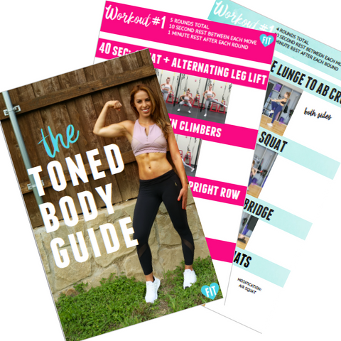 The Toned Body Guide