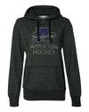 AAHA - Women's Glitter French Terry Hooded Pullover - A Logo