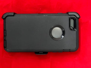 Hard case with rubber outside