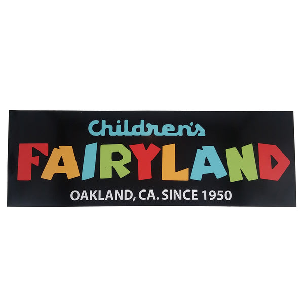 Children's Fairyland bumper sticker